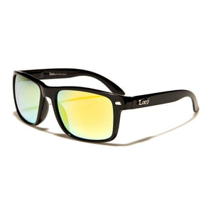 Lolo - ZunnyDāz - New Classics - Black Frames + Yellow/Orange Lens