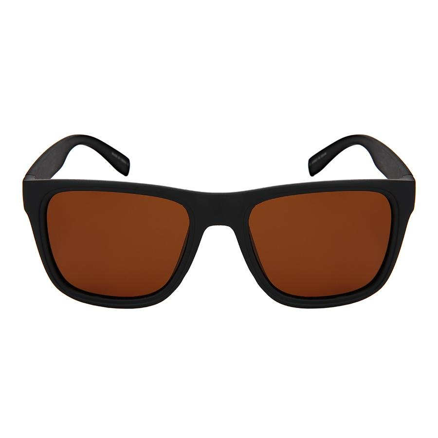 Maddox - ZunnyDāz - New Classics - Matte Black Frames + Dark Brown Lens
