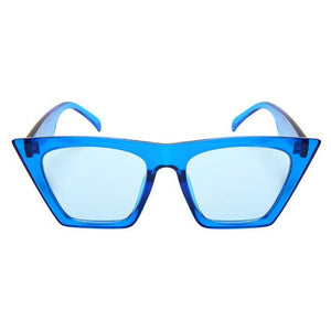 Mittens - ZunnyDāz - Cat Eye - Clear Blue Frames + Blue Lens