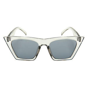 Mittens - ZunnyDāz - Cat Eye - Clear Frames + Dark Gray Lens