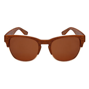 Ryker - ZunnyDāz - New Classics - Medium Wood/Gold Frames + Black Lens
