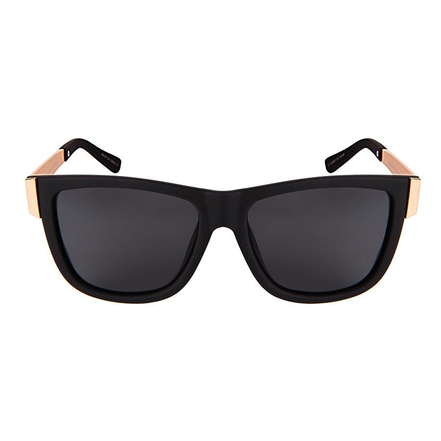 Steele - ZunnyDāz - New Classics - Black/Gold Frames + Black Lens