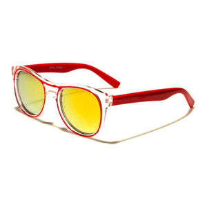 Kids Taylor - ZunnyDāz - Kids - Clear Red Frames + Yellow Lens