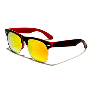 Kids Willow - ZunnyDāz - Kids - Black/Red Frames + Yellow Lens