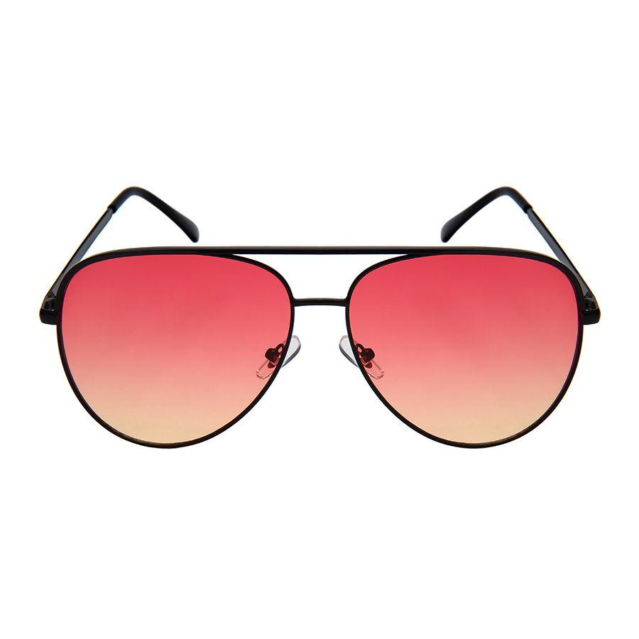 Wonderland - ZunnyDāz - Aviator - Black Frames + Red Lens