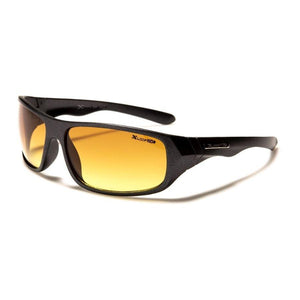 Xavier - ZunnyDāz - Active - Rugged Gray Black + Golden Brown Lens