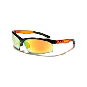 Greyson - ZunnyDāz - Active - Black & Orange Frames + Sunset Orange Lens