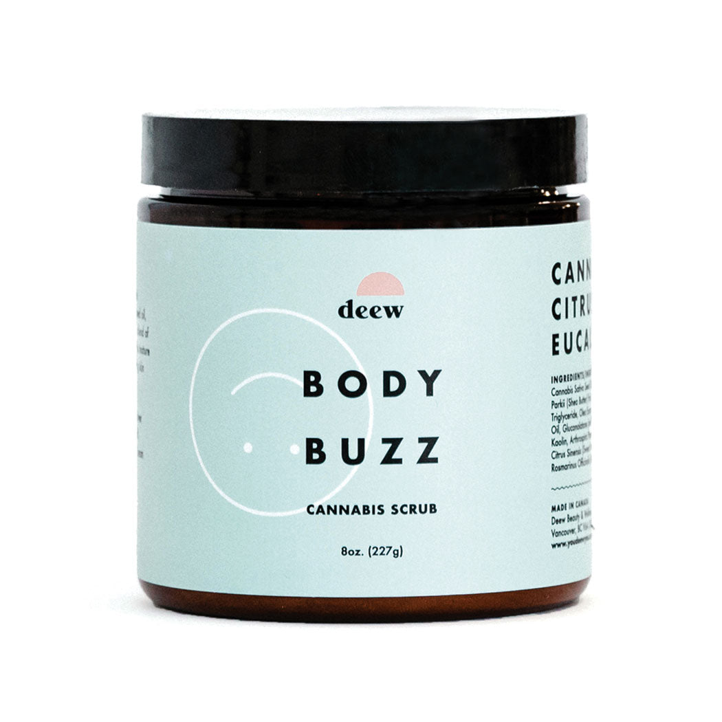 Body Buzz Cannabis Scrub