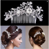 Diamond Pearl Bride Headdress