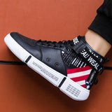 High-Top Canvas Men  Sneakers