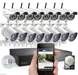16 Channel CCTV Wireless Camera With Nvr Full HD 1080p