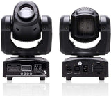 Moving Head Light with RGBW 4 Color LED by DMX and Sound Activated Control