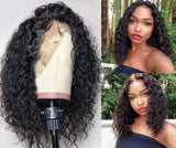 13x6 Lace Front Wigs Glueless Wave Synthetic Wigs Heat Resistant