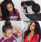 Deep Wave Lace Front Wigs Human Hair 150% Density Brazilian Human Hair Wig