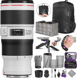 Canon EF 70-200mm f/4L is II USM Lens with Altura Photo Essential Accessory