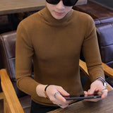 Men's long-sleeved turtleneck Sweater