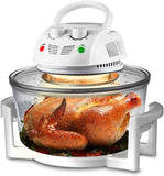 Halogen Oven Countertop, Healthy Cooking, Stainless Steel, Prepare Quick Healthy Meals, Great for French Fries & Chips