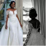 Fishtail High-End Custom Wedding Dress