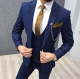 3 Pcs Men Suit
