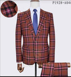 Stripped Office Suit 2 Pcs