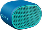 Sony SRS-XB01 Compact Portable Bluetooth Speaker: Loud Portable Party Speaker - Built in Mic for Phone Calls Bluetooth Speakers - Blue