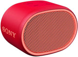 Sony SRS-XB01 Compact Portable Bluetooth Speaker: Loud Portable Party Speaker - Built in Mic for Phone Calls Bluetooth Speakers - Red