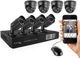 Armcrest 8 Channel Security Camera CCTV Full  HD/1080p Kit