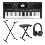 YAMAHA PSR-E463 DIGITAL PIANO HOME BUNDLE