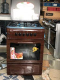 Mediatech 60x60 4 Burner Gas Cooker with Oven and Grill