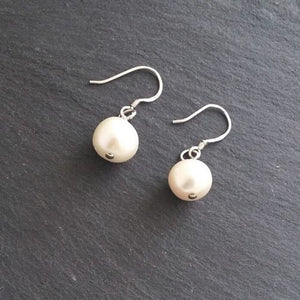 Will you be my Bridesmaid Drop Pearl Earring