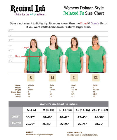 Womens Relaxed Fit Shirts