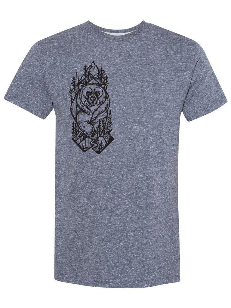 Grizzly Bear Mens T-Shirt