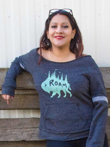 Buffalo Roam Sweatshirt - Revival Ink Shirts