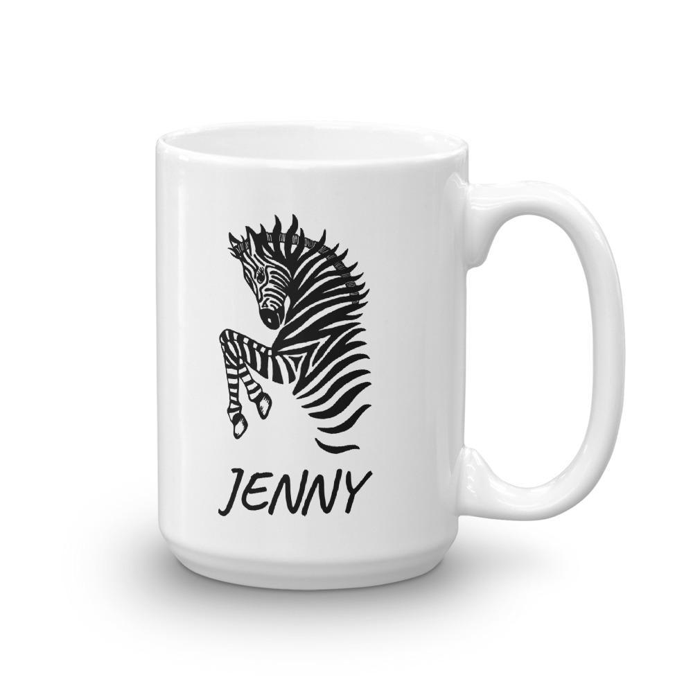 Zebra Personalized Coffee Mug - Revival Ink Shirts