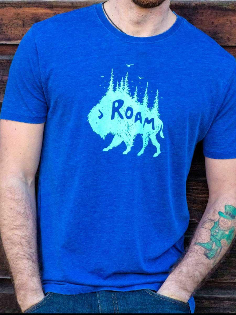 Buffalo Roam Mens Tee - Revival Ink Shirts