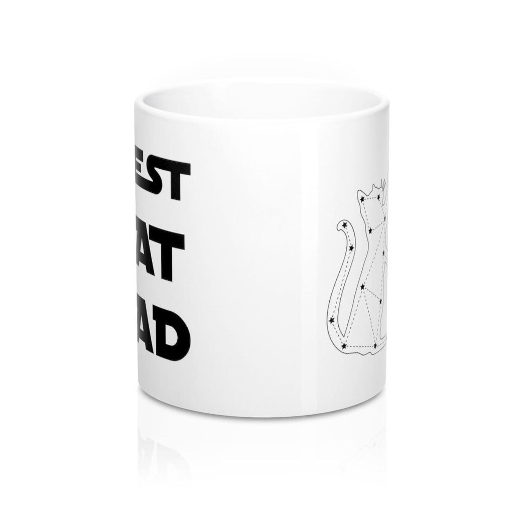 Funny Cat Mug for Cat Dad, Fathers Day Gift Coffee Mug - Revival Ink Shirts