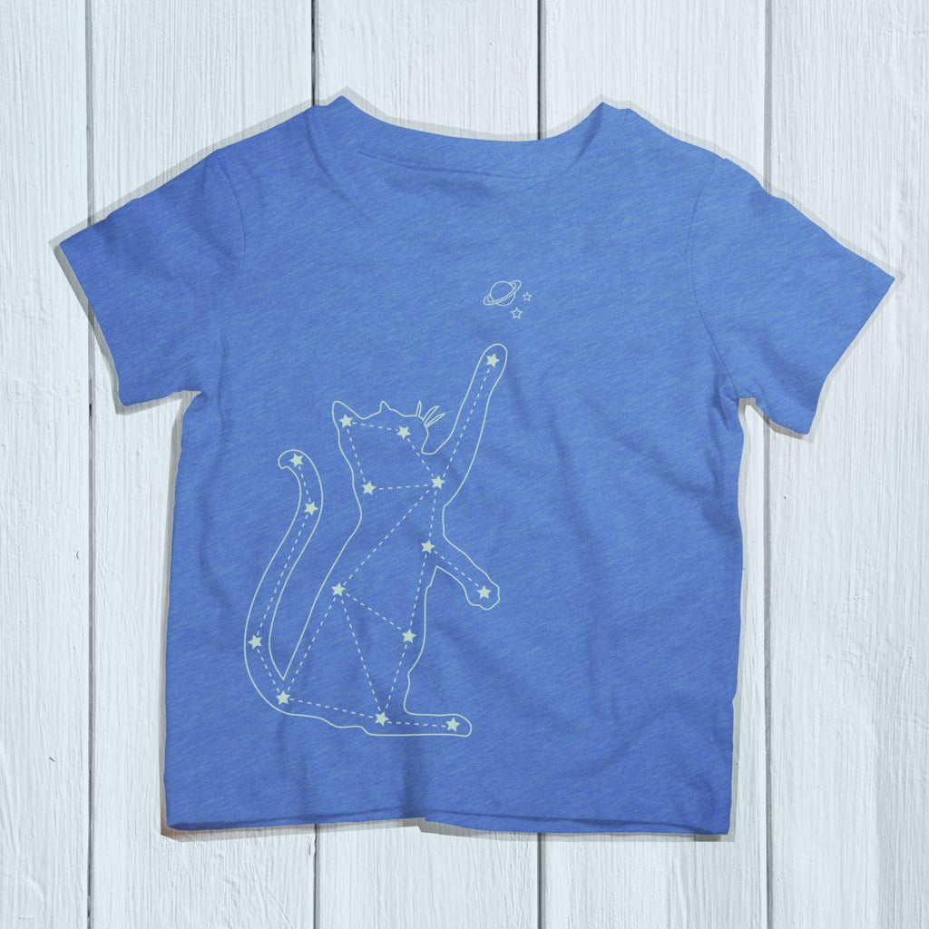 Cat Zodiac Constellation Kids Shirt - Revival Ink Shirts