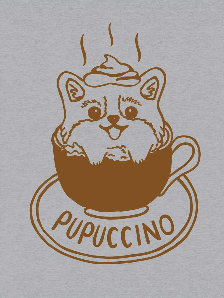 Coffee Dog T-Shirt for Men - Pupuccino - Revival Ink Shirts