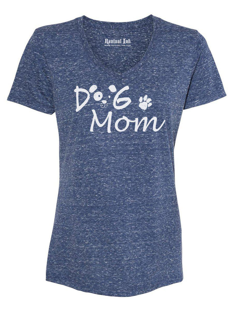 Dog Mom Womens Graphic Tee