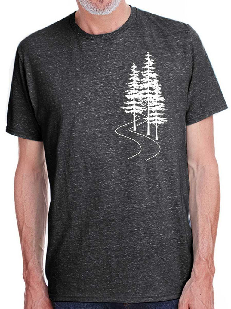 Evergreen Trees Mens T-Shirt - Revival Ink Shirts