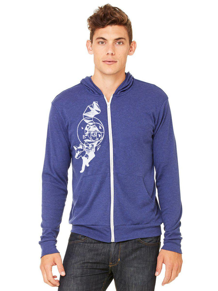 Fox Hoodie Sweatshirt - Revival Ink Shirts