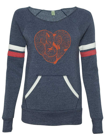 Fox Womens Sweatshirt