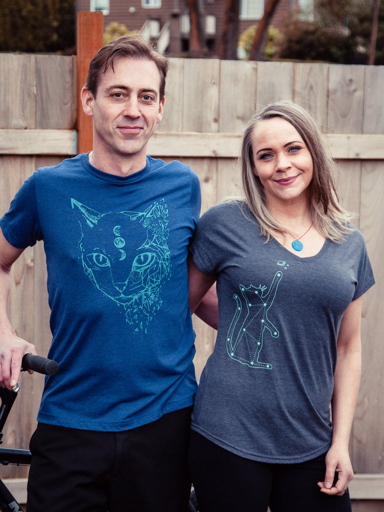 Constellation Womens Cat Shirt - Revival Ink Shirts