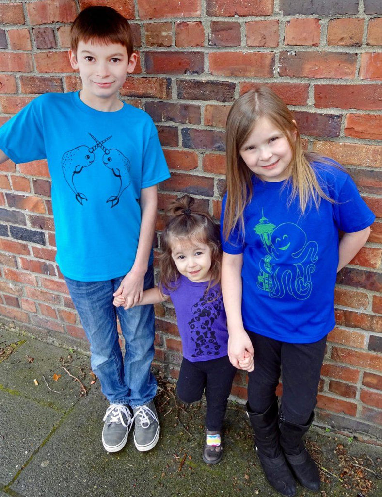 Narwhal Kids Graphic Tee - Revival Ink Shirts