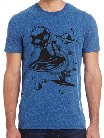 Mens Alien Cat Shirt - Revival Ink Shirts
