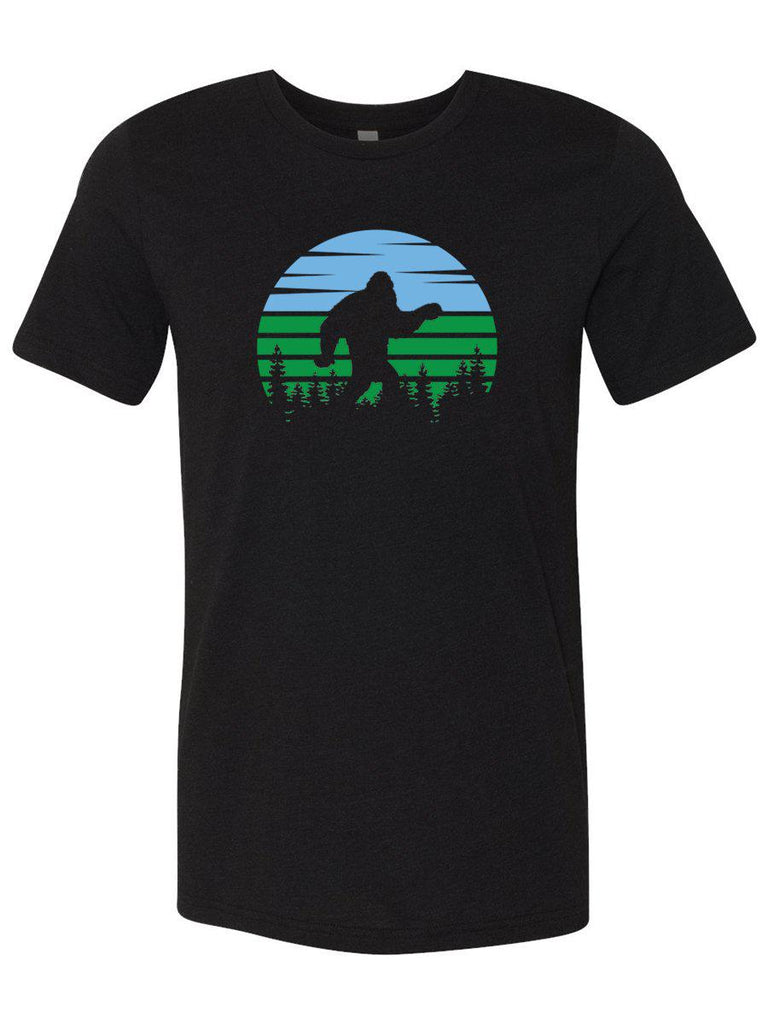 Sasquatch or Bigfoot Mens T-Shirt