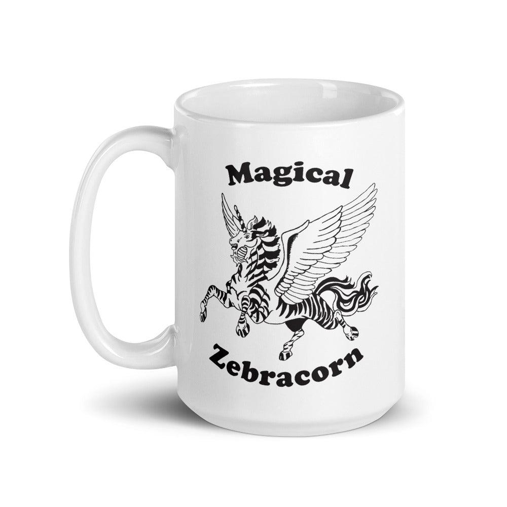 Funny Magical Zebracorn Mug - Revival Ink Shirts