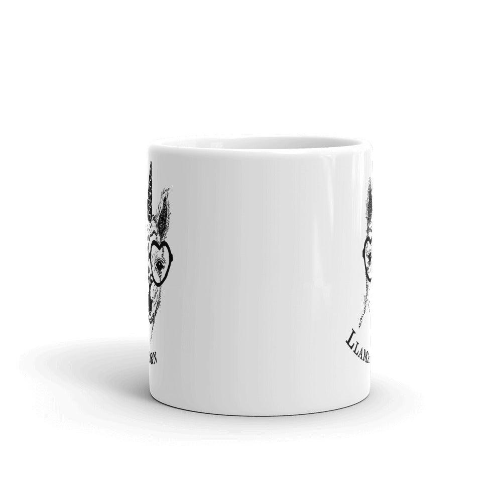 Funny Llama Coffee Mug - Revival Ink Shirts