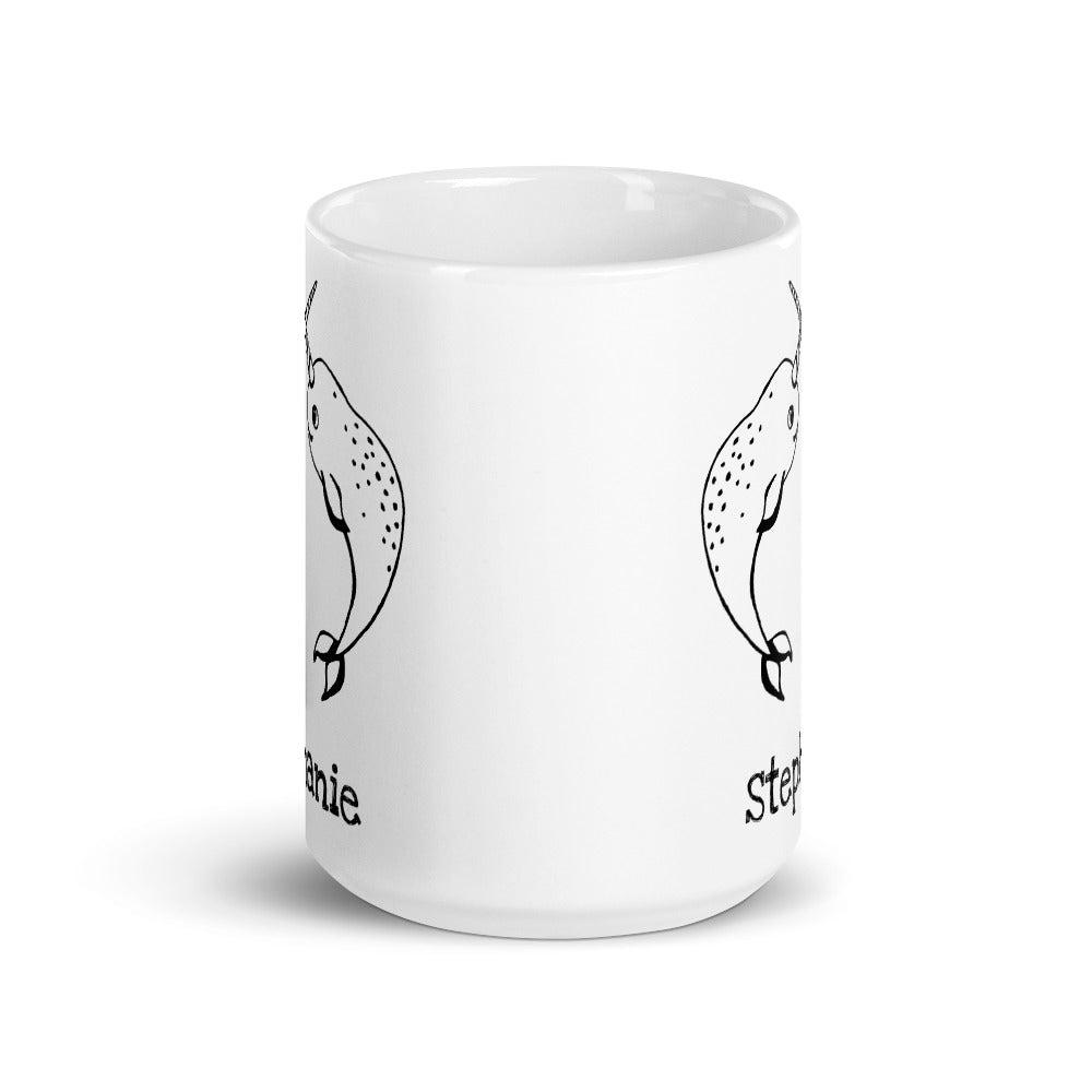 Personalized Narwhals Mug - Revival Ink Shirts