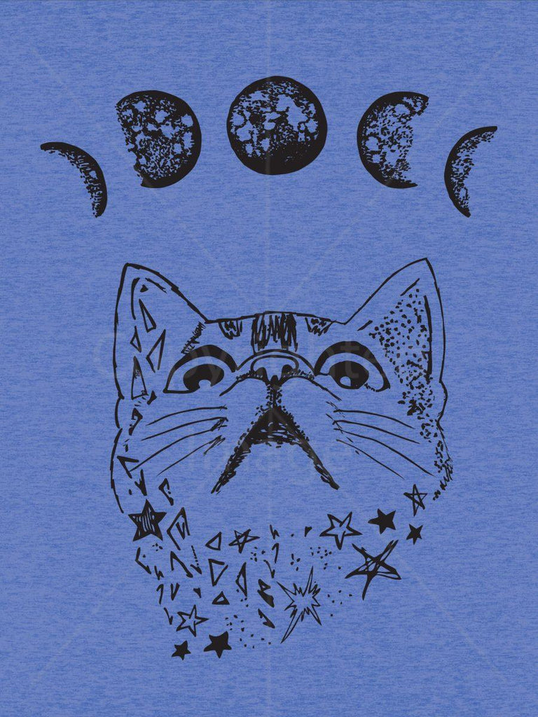 Moon Phase Cat Shirt | Cat Dad Gift for Men - Revival Ink Shirts